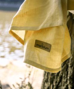 dente-di-leone-ring-sling-giallo-in-canapa