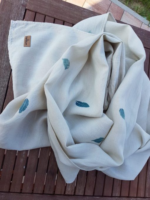 Fogliame Ring Sling in canapa