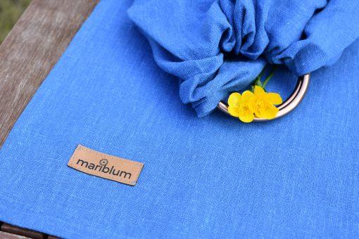 blue-linen-ring-sling-babywearing