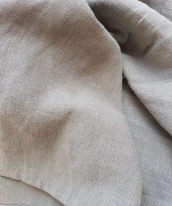 grüner ring sling aus ökologisch angebautem leinen
