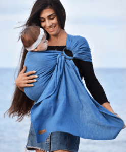 sky-blue-linen-organic-ring-sling-babywearing-consulant