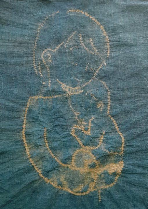 custom babywearing sling made of hemp