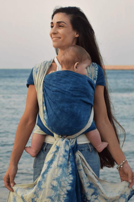 sea-breeze-blue-babywearing-sling