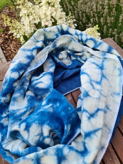 brise-marine-bleu-foulard-en-coton-biologique-mariblum